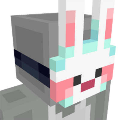 Dream Bunny Mask on the Minecraft Marketplace by Humblebright Studio