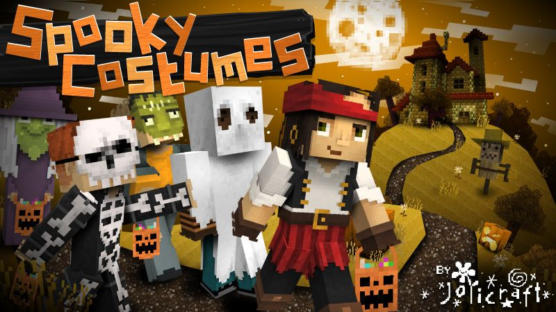 Spooky Costumes on the Minecraft Marketplace by Jolicraft