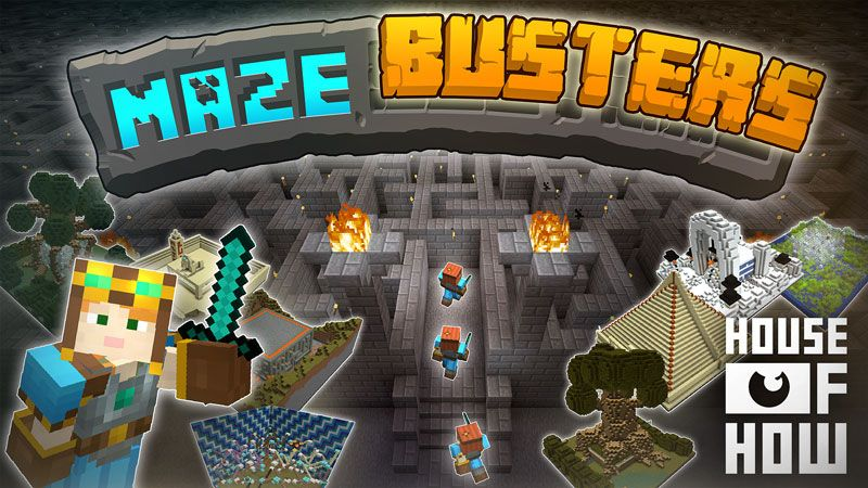 Maze Busters on the Minecraft Marketplace by House of How