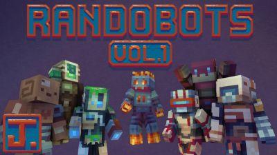 Randobots Skin Pack on the Minecraft Marketplace by ThatGuyJake