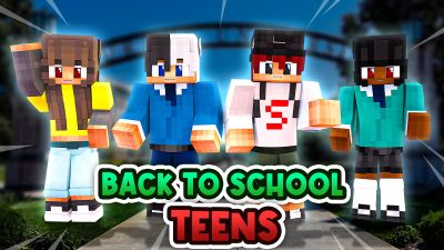 Back to School Teens on the Minecraft Marketplace by BLOCKLAB Studios