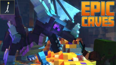 Epic Caves on the Minecraft Marketplace by Imagiverse