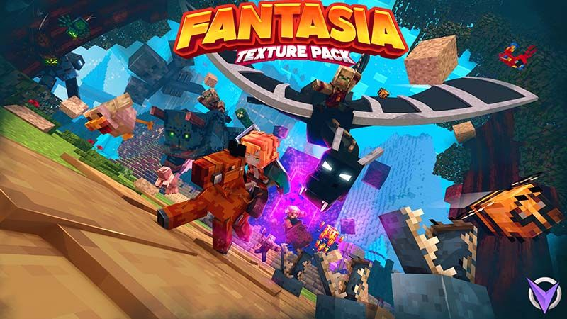 Fantasia Texture Pack on the Minecraft Marketplace by Team Visionary