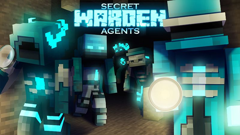 Secret Warden Agents on the Minecraft Marketplace by Hourglass Studios