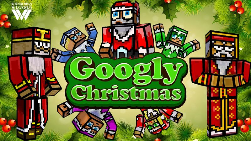 Googly Christmas on the Minecraft Marketplace by Wandering Wizards