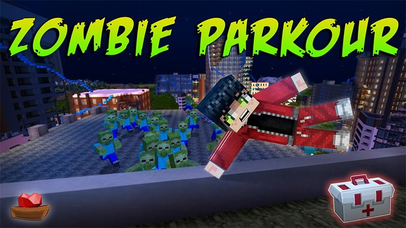 Zombie Parkour on the Minecraft Marketplace by Lifeboat