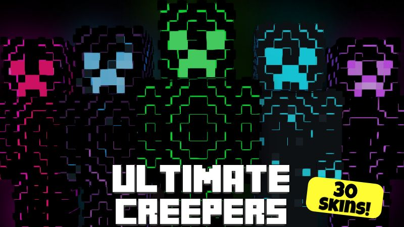 Ultimate Creepers on the Minecraft Marketplace by Pixelationz Studios