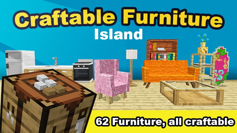 Craftable Furniture Island on the Minecraft Marketplace by Mine-North