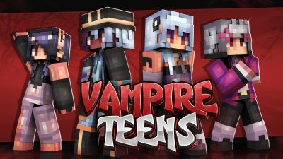 Vampire Teens on the Minecraft Marketplace by Cynosia