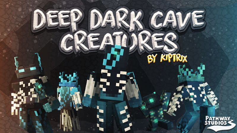 Deep Dark Cave Creatures on the Minecraft Marketplace by Pathway Studios