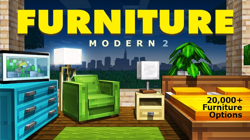 Furniture Modern 2 on the Minecraft Marketplace by Spark Universe
