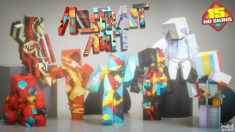 Abstract Art HD on the Minecraft Marketplace by LinsCraft