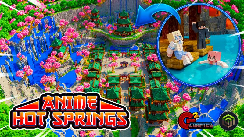 Anime Hot Springs on the Minecraft Marketplace by G2Crafted