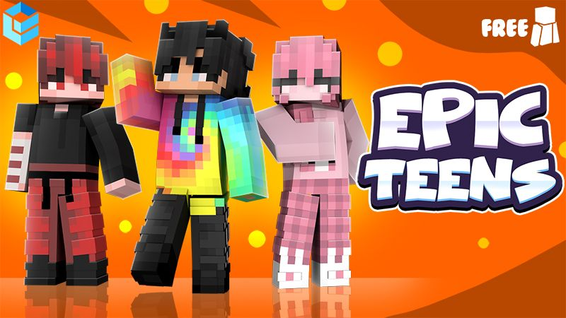 Epic Teens on the Minecraft Marketplace by Entity Builds