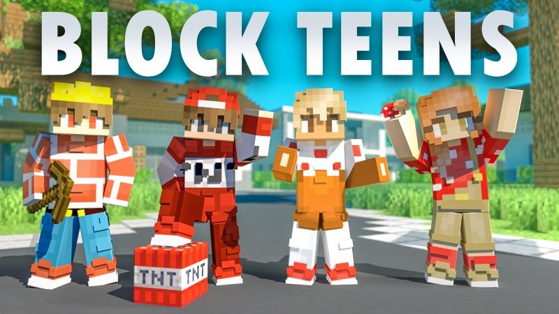 Block Teens on the Minecraft Marketplace by Fall Studios