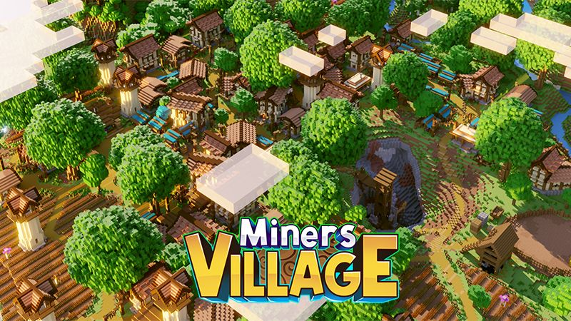 Miners Village on the Minecraft Marketplace by Diluvian
