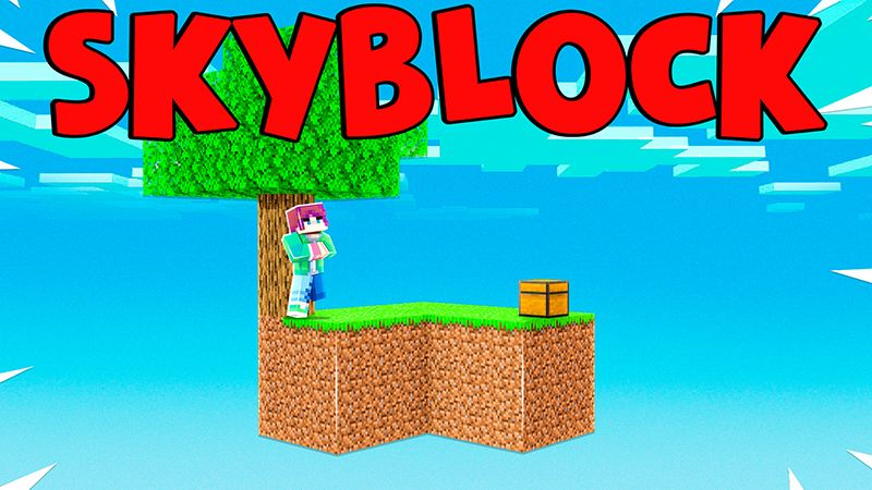 Skyblock World on the Minecraft Marketplace by Pickaxe Studios