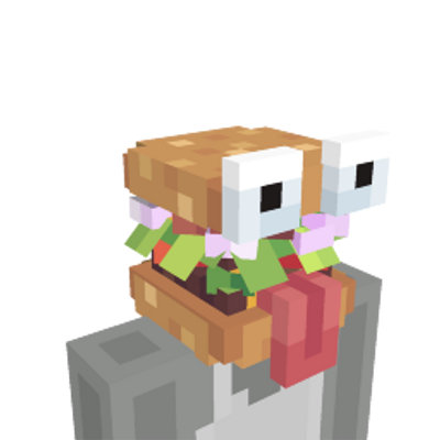 Burger Head on the Minecraft Marketplace by Pixelbiester