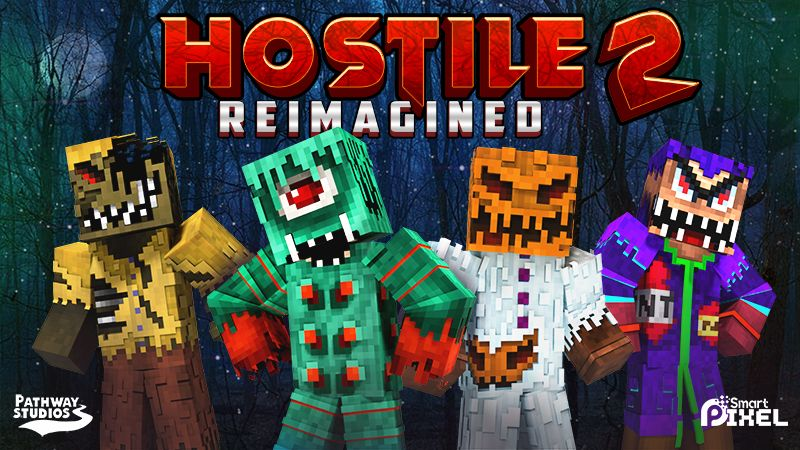 Hostile Reimagined 2 on the Minecraft Marketplace by Pathway Studios
