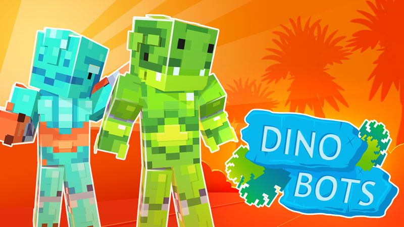 Dino Bots on the Minecraft Marketplace by Ninja Squirrel Gaming