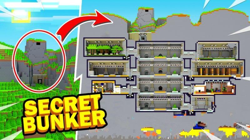 Secret Bunker on the Minecraft Marketplace by Shapescape