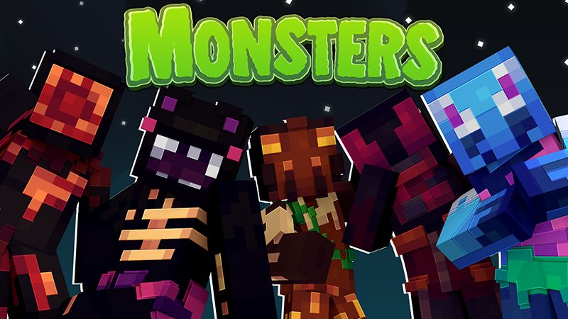Monsters on the Minecraft Marketplace by Dig Down Studios