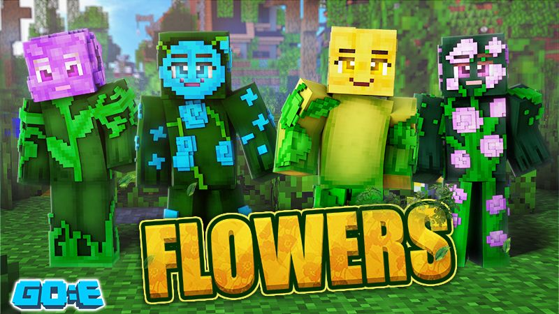 Flowers on the Minecraft Marketplace by GoE-Craft