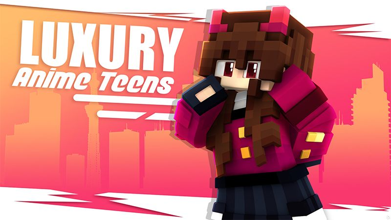Luxury Anime Teens on the Minecraft Marketplace by Glowfischdesigns