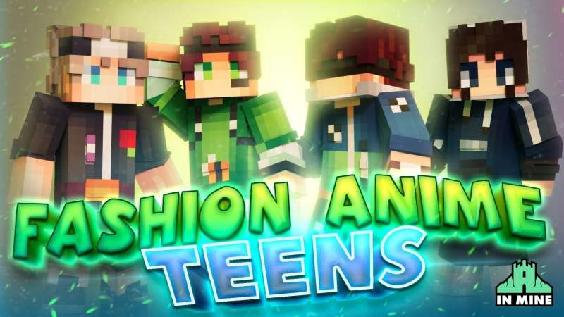 Fashion Anime Teens on the Minecraft Marketplace by In Mine