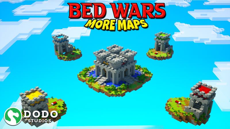 Bed Wars More Maps on the Minecraft Marketplace by Dodo Studios
