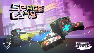 Space City on the Minecraft Marketplace by Pathway Studios