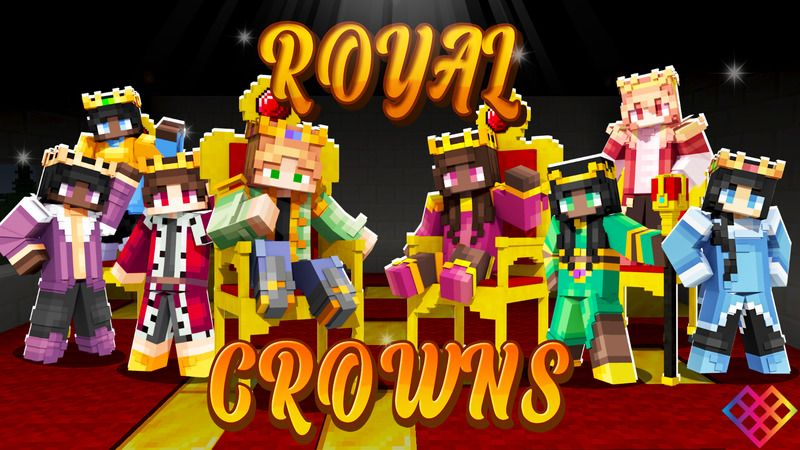 Royal Crowns on the Minecraft Marketplace by Rainbow Theory