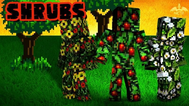 Shrubs on the Minecraft Marketplace by Dragnoz