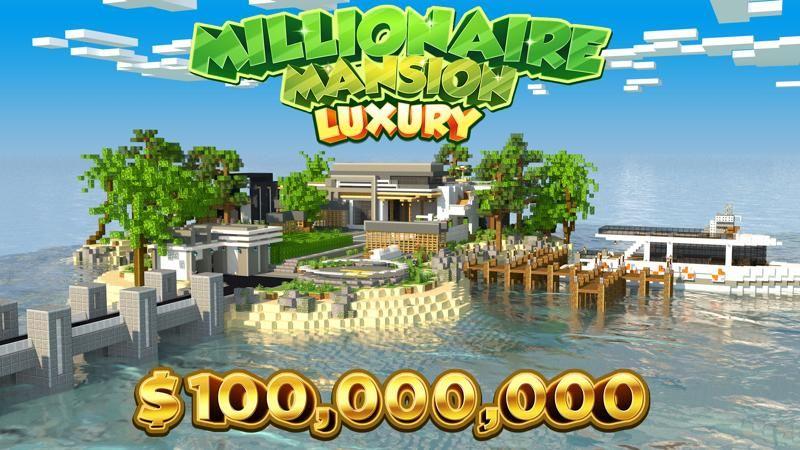 Millionaire Mansion Luxury on the Minecraft Marketplace by 4KS Studios