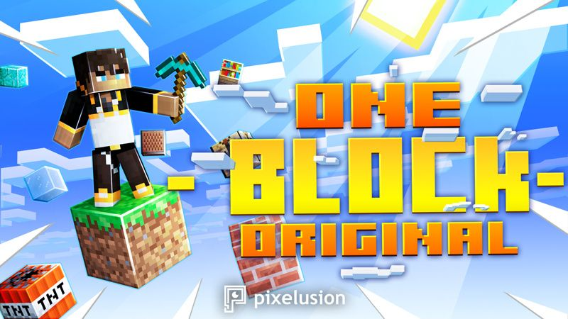 One Block Original on the Minecraft Marketplace by Pixelusion