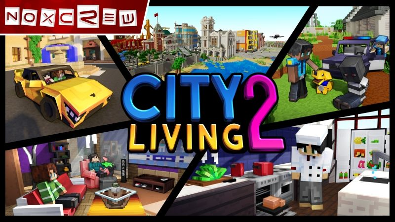 City Living 2 on the Minecraft Marketplace by Noxcrew