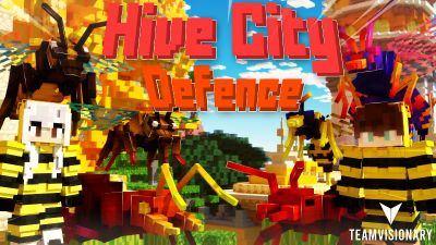 Hive City Defence on the Minecraft Marketplace by Team Visionary