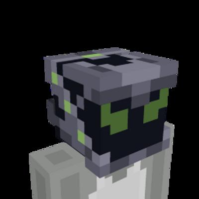 Alien Helmet on the Minecraft Marketplace by Snail Studios