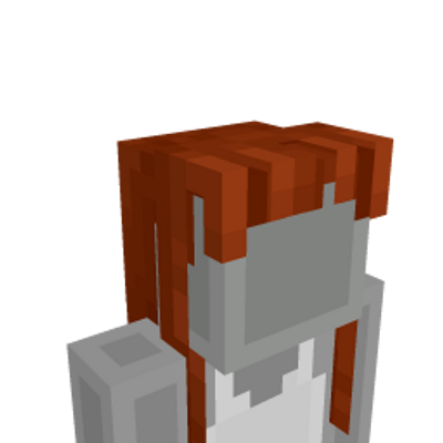 Long Straight Bangs on the Minecraft Marketplace by Minecraft