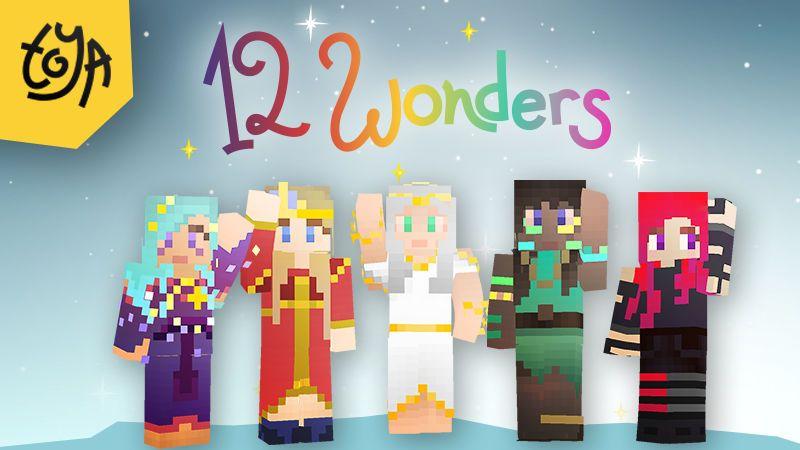 12 Wonders Skinpack on the Minecraft Marketplace by Toya