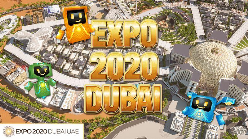 Expo 2020 Dubai on the Minecraft Marketplace by Blockworks