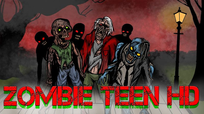 Zombie Teens HD on the Minecraft Marketplace by BBB Studios