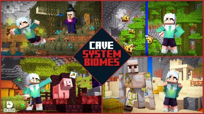 Cave System Biomes on the Minecraft Marketplace by Diluvian