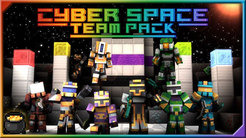 Cyber Space Team Pack on the Minecraft Marketplace by Pixel Squared