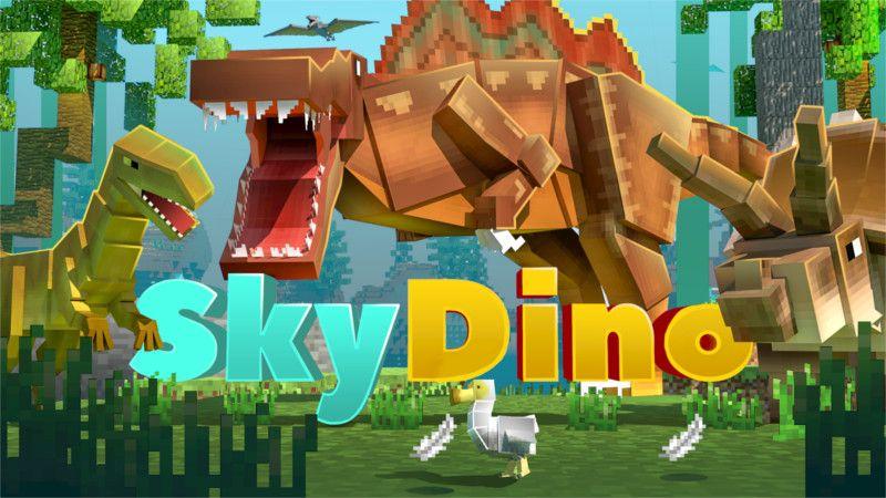 SkyDino on the Minecraft Marketplace by Sapphire Studios