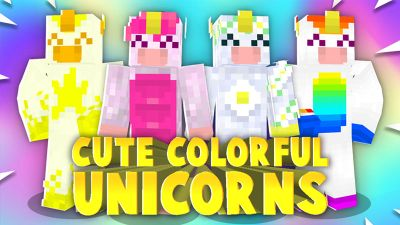 Cute Colorful Unicorns on the Minecraft Marketplace by Cynosia