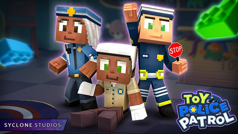 Toy Police Patrol HD Skins on the Minecraft Marketplace by Syclone Studios