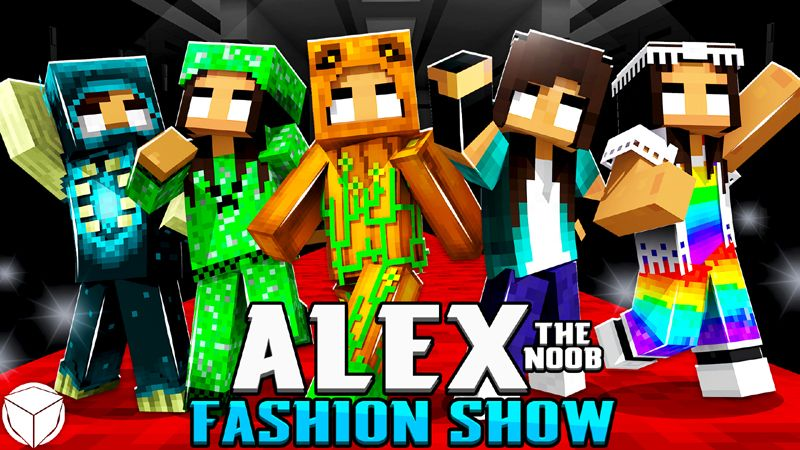 Alex the Noob Fashion Show on the Minecraft Marketplace by Logdotzip