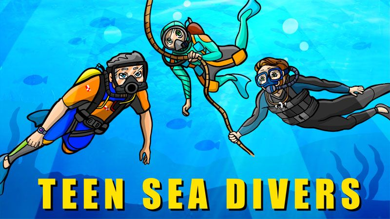 Teen Sea Divers on the Minecraft Marketplace by BBB Studios