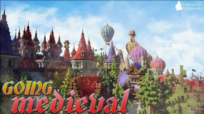 Going Medieval on the Minecraft Marketplace by Shaliquinn's Schematics